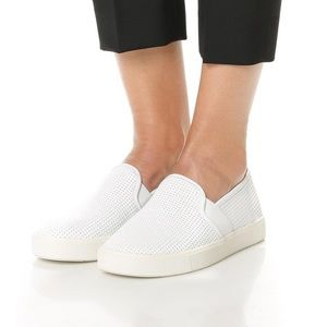 Vince Perforated Leather Blair Sneakers Loafers